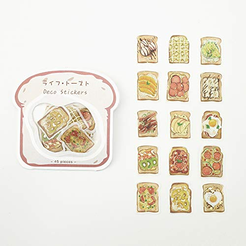 BGM - Flake Stickers - Flake Seal Foil Stamping - Life Toast (Washi Tape Material)
