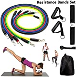 ApexHorizon Ultimate Resistance Bands Set & Sit-up Aid for Home Workouts Gym Fitness Trainer Equipment