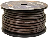 Cadence 4G150-Black 4 AWG Gauge 18 Foot Amp Power / Ground Installation Wire