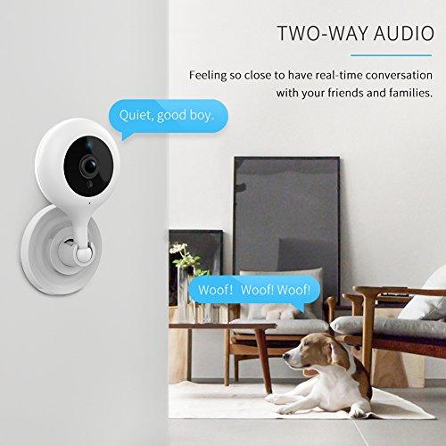 APEMAN WiFi Camera 1080P IP Wireless Surveillance Home Security Camera Cloud Service 2-way Audio Night Vision CCTV Cam Motion Detection by APEMAN (Image #6)