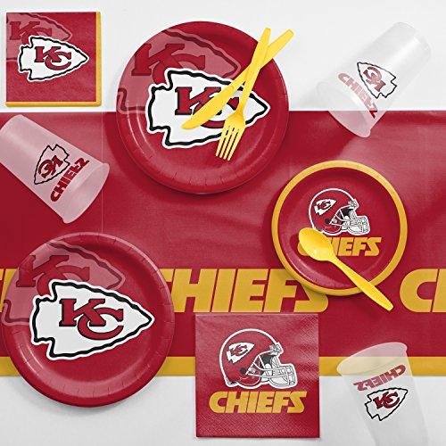 Kansas City Chiefs Game Day Party Supplies Kit ()