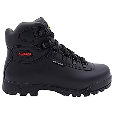 best sneakers 192f1 9ccd9 Asolo Mens Skyriser Sunrise Supremacy Welt High Hiker Boot,Black Red