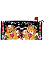 Christmas Seasonal Magnetic Mailbox Cover Wrap