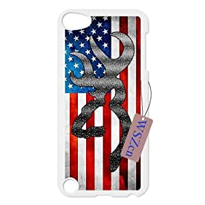 Browning Hard Back Durable Case for Ipod Touch 5,diy Browning case