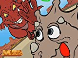 T-Rex chases Triceratops - Dinosaur Songs from Dinostory the Dinosaur Rock Opera