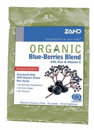 ZAND LOZENGES HRBL BLUEBRY ORG, 18 PC