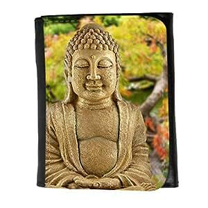le portefeuille de grands luxe femmes avec beaucoup de compartiments // V00001631 jardín de Buda // Small Size Wallet
