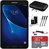 Samsung Galaxy Tab A Lite 7.0 8GB Tablet PC (Wi-Fi) White 32GB microSDHC Accessory Bundle includes Tablet, 32GB MicroSDHC Memory Card, Cleaning Kit, 3 Stylus Pens, Ear Buds and Hardshell Case