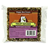 Happy Hen Treats 7.5 oz. Square-Mealworm and Peanut, 4.25