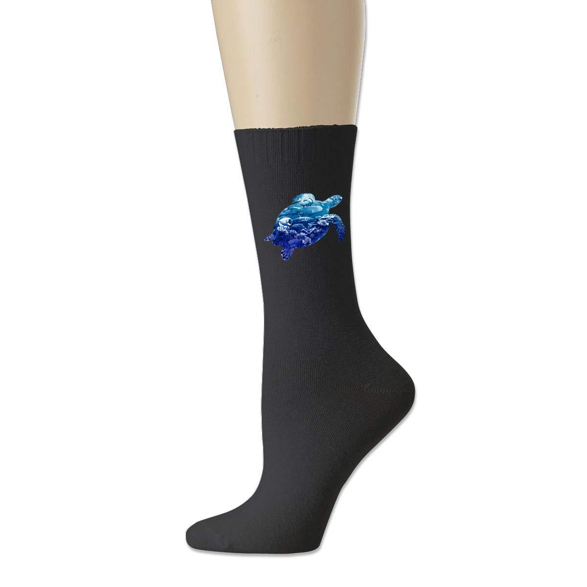 Rigg-socks Ocean Life For Men Comfortable Sport Socks Black