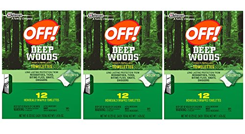 Woods Insect Repellent Wipes 12 Towelettes product image