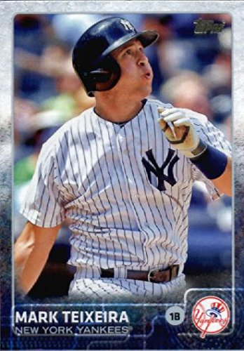 2015 Topps Limited Glossy #307 Mark Teixeira Baseball Card (Limited to 1000 Made) ()