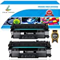 TRUE IMAGE 2Packs Compatible for HP 49A Q5949A 53A Q7553A Toner Cartridge for HP Laserjet 1320 1320n 1320tn 1320nw, HP Laserjet 3390 3392, HP Laserjet P2015, P2015dn, M2727nf, M2727 MFP Printer Ink