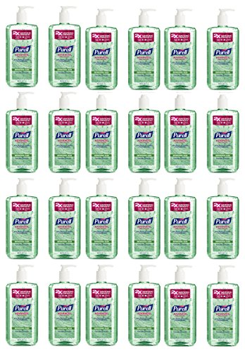 (HGPNOKWSZD 3081-02-EC Advanced Hand Sanitizer - Hand Sanitizer Gel with Refreshing Aloe, 1L Pump Bottle Pack of 24)