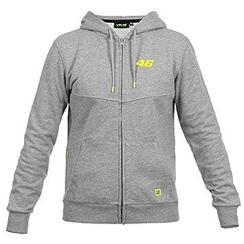 VR46 Sweat Shirt à Capuche Homme Gris XL: