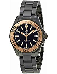 Watches Tag Heuer Womens Aquaracer Watch (Black)