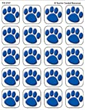 : Teacher Created Resources, 120 Blue Paw Prints Stickers (5747)