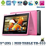 9 inch A33 F900 Allwinner Tablet, Quad_Core Dual_Camera Google Android_4.4 WiFi Blue-Tooth HD 1G + 8G Tablet_PC