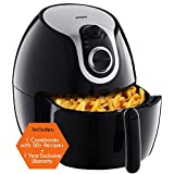Air Fryer XL by Cozyna (5L) with airfryer cookbook (over 50 recipes)