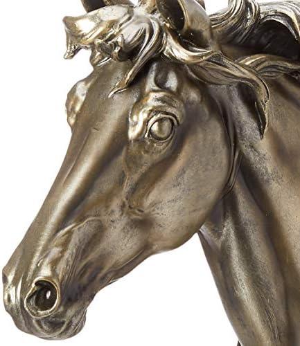 Design Toscano Qs252 Majestic Stallion Horse Statue Multicolored Home Kitchen
