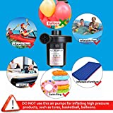 Electric Air Pump, AGPtEK Portable Quick-Fill Air