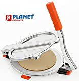 Planet High Grade Stainless Steel Puri Press/Papad Maker (Large)