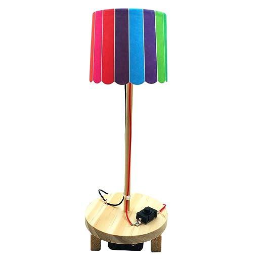LEDMOMO Luz de lectura para niños Lámpara de mesa para luz ...