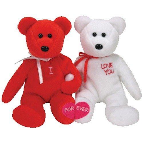 - TY Beanie Babies - I LOVE YOU the Bears (set of 2)
