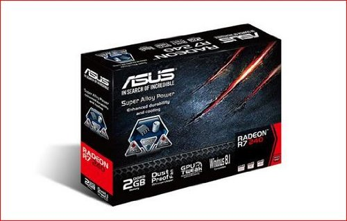 ASUS 2GB Graphics Cards R7240-2GD3-L