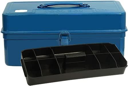 Caja de almacenamiento de herramientas Caja de herramientas metálicas Caja de herramientas Organizador de servicio pesado con bandeja de herramientas ABS for almacenamiento de herramientas domésticas: Amazon.es: Hogar