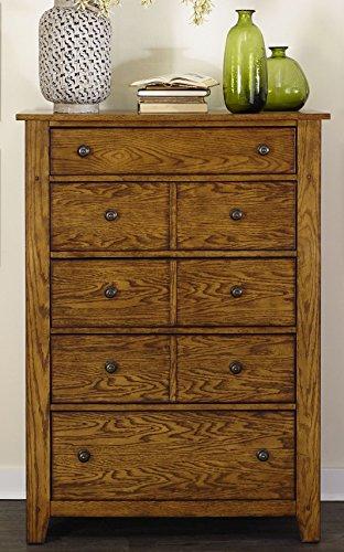 Liberty Furniture 175-BR41 Grandpa's Cabin 5-Drawer Chest, 38