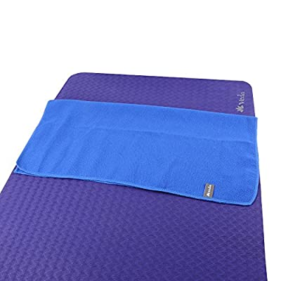 "Veda Yoga Microfiber Hand Towel (Pilates/Sports/Gym) - 24"" x 24"" (set of 2)"