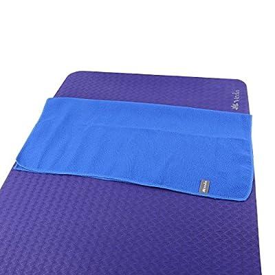 "Veda Yoga Microfiber Hand Towel (Pilates/Sports/Gym) - 24"" x 24"" (set of 2)"