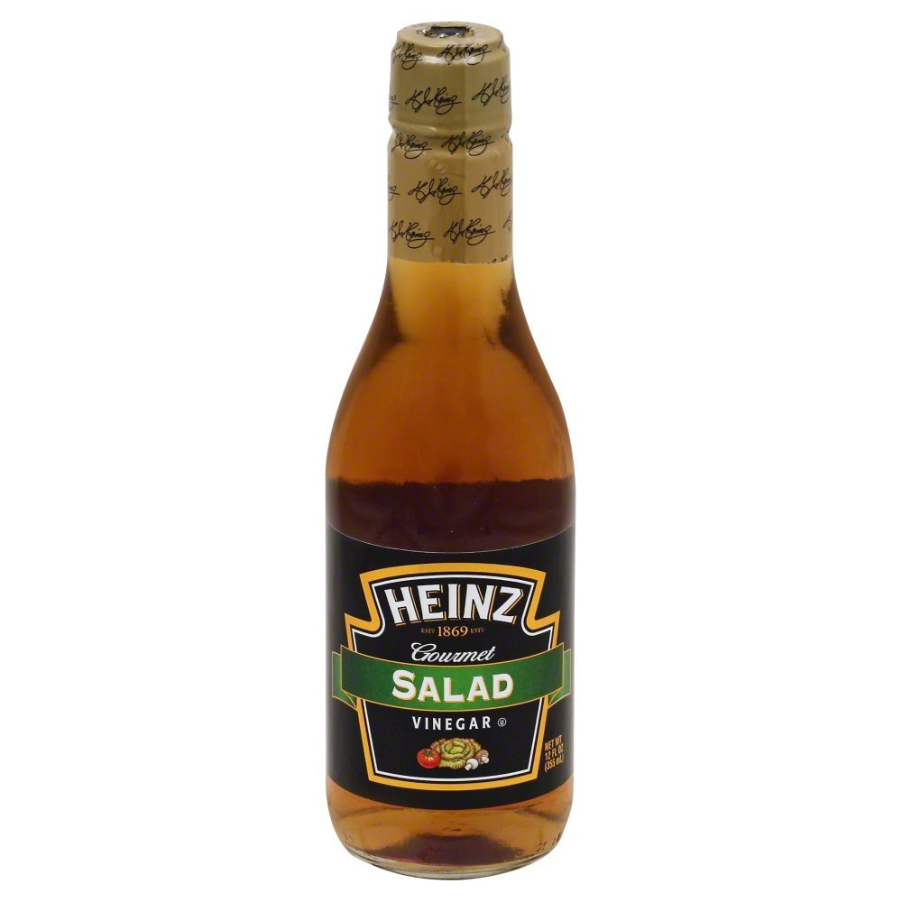 Heinz Gourmet Salad Vinegar, 12 Fl Oz (Pack of 12)