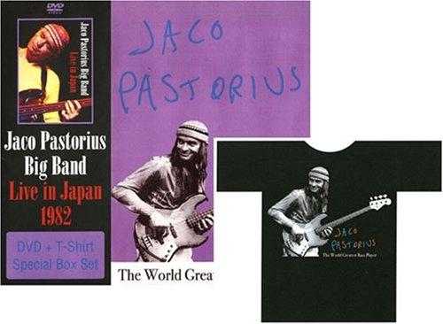Jaco Pastorius Big Band-Live in Japan 1982  + Original T Shirts(色: 白ヌキ)の商品画像