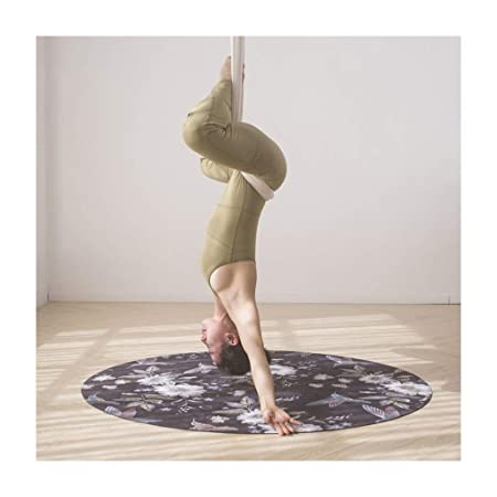 ZHP Esteras de Yoga Estera de Yoga Alfombra Redonda ...