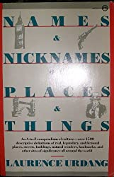 Names & Nicknames Of Places And Things