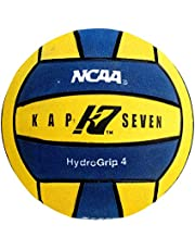 KAP7 Size 4 HydroGrip Water Polo Ball (Yellow/Navy)