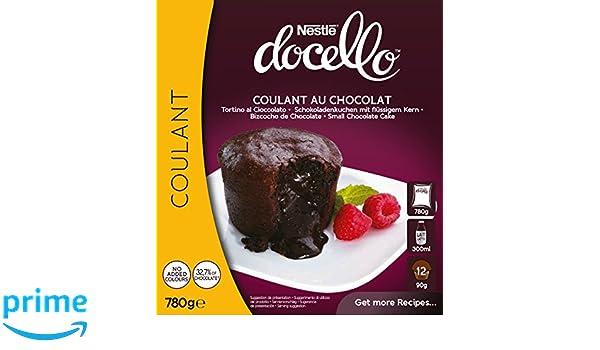 Nestlé Docello Preparado en Polvo para Coulant de Chocolate - 780 gr: Amazon.es: Alimentación y bebidas