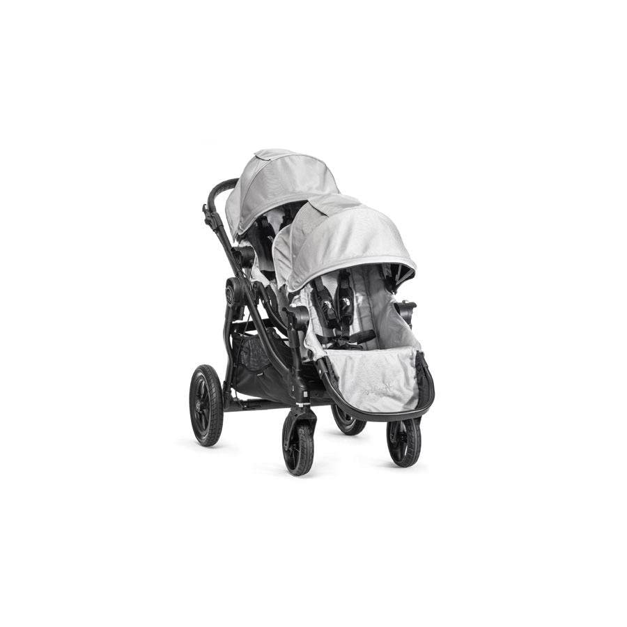 Baby Jogger 2014 City Select Stroller WITH Second Seat (Silver)