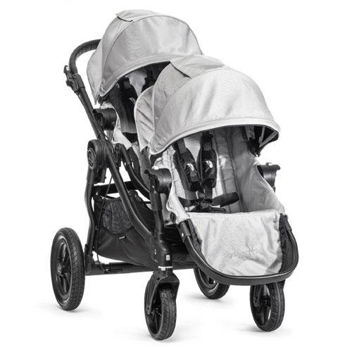 Baby Jogger City Select Stroller with 2nd Seat, Silver For Sale