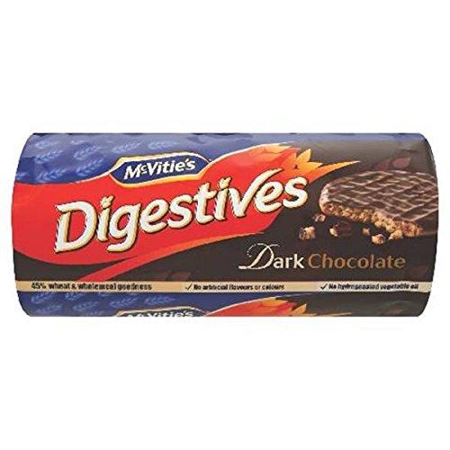 McVitie's Digestives Dark Chocolate Biscuits 12 x 300g Packs (Bulk Buy)