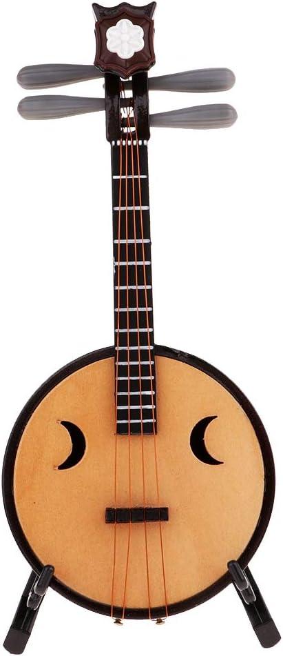 Amazon.es: SM SunniMix 1:6 Instrumento Musical Mini Modelo para 12 Figura de Acción Figure Juguetes - Laúd zhongruan (14cm de Largo): Juguetes y juegos