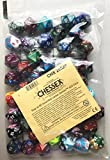 Chessex Bag of 50 Assorted Loose Gemini d20 Dice