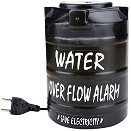 Madhram Water Overflow Tank Alarm with Voice Sound