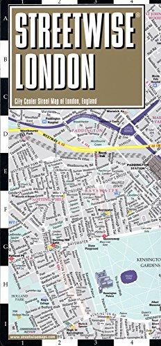 London Center Map.Streetwise London Map Laminated City Center Street Map Of London