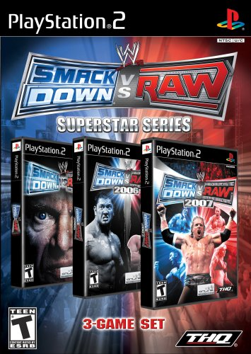 WWE Smackdown vs Raw Superstar Series - PlayStation - Ps2 Wwe