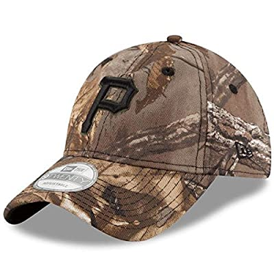 Pittsburgh Pirates Realtree 9TWENTY Adjustable Hat/Cap by New Era