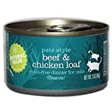 Natural Value Beef & Chicken Non-GMO Cat Food / Case of 24, 3 oz. cans For Sale