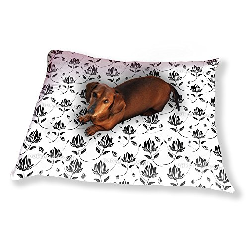 Shadow Magnolia Dog Pillow Luxury Dog / Cat Pet Bed - Magnolia Silhouette